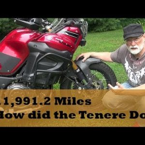 Alaska 2017 Debrief, How did the Yamaha Super Tenere do?